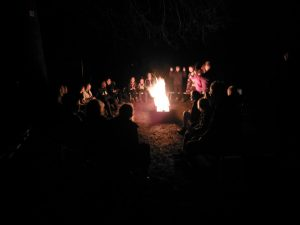 Camp fire songs.